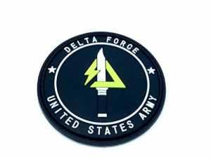 Delta Force États-Unis Army PVC Airsoft Patch