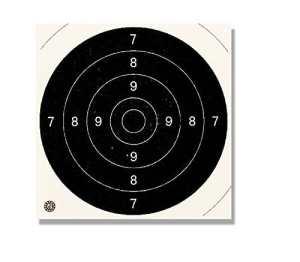 Europarm – Cibles 21/21 pour armes de poing