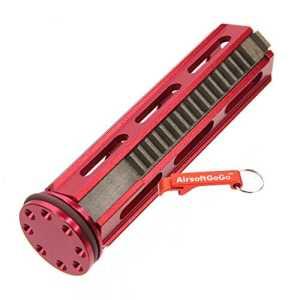 Army Force Aluminium Piston 18 Dents Métal avec Tête de piston pour Airsoft AEG SVD,R85,L85,SR25 Gearbox (Rouge) – AirsoftGoGo Porte-clés Inclus