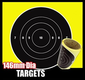10 targets great for nerf guns