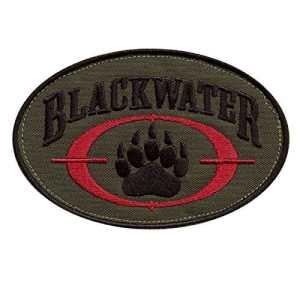 Olive Drab OD Blackwater Insigne Academi Embroidered Tactical Combat Milspec Velcro Écusson Patch