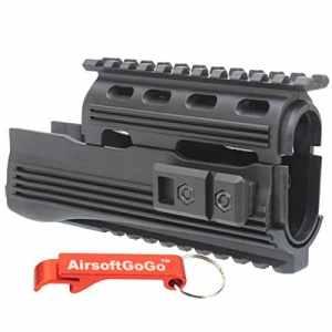 Tactical Rail Chargeur pour APS AK74 AKS74 ASK201 ASK202 ASK204P ASK208 Airsoft AEG – AirsoftGoGo Porte-clés Inclus