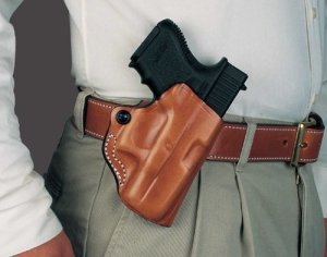 Desantis 019 Mini Scabbard Belt Holster Right Hand Black 2.75 S&W Bodyguard … by DeSantis
