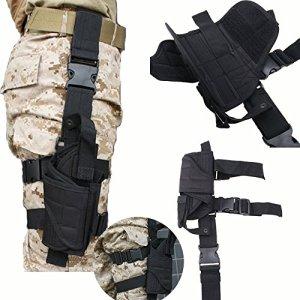 Équipement Modulaire de Police – ODOLAND Ceintures de sécurité Police – équipement tactique (Holster de Ceinture pour Cuisse)