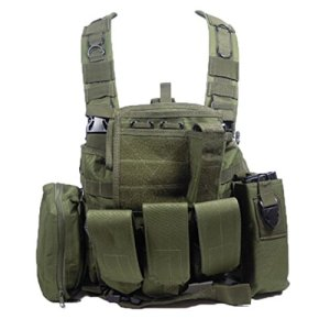 SAS Gilet tactique Chest Rig RRV Airsoft, OD