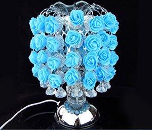 Aromatique Rose Sensible Aromathérapie Table Lampes Aromathérapie Huile Essentielle Lampes De Chevet De Cheveux Lampe Cadeau Creative Cadeau GAOXP ( Color : Blue )