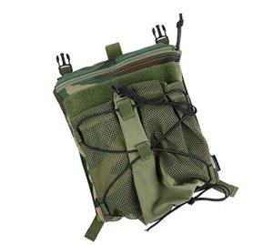 TMC casque Panneau arrière pour 420PC (Woodland) pour tactique Airsoft Chasse Jeu de plein air