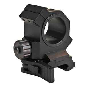 hongbest Les anneaux de 30mm/25.4mm adaptent le support spécial de 20mm Weaver/Picatinny Rail Laser/lampe-torche