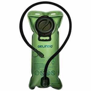 Gelindo Vessie d'hydratation 3 litres 100oz, approuvé par la FDA et sans BPA, Grande Ouverture, Tube isolé, Remplacement de Sac à Dos d'hydratation pour la Randonnée, Camping, Vélo, Chasse