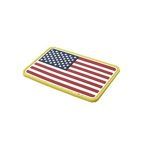 TMC Airsoft Patch US Drapeau Velcro PVC Moral Patch pour Airsoft Tactical Gear