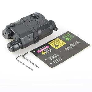 ATAIRSOFT Marine Seal PEQ-15 Dummy Batterie Cas Pour Tactique AEG Airsoft Affichage Noir EX1401
