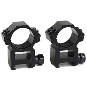 hongbest 2pcs 25.4mm High Tactical Rifle Portée Bagues Weaver/Picatinny Rail Mount Laser/lampe de poche support spécial