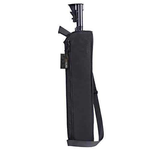OneTigris Fourreau/Etui/Housse De Protection Pour Fusil/Carabine de 29″ Tactique Avec Bandoulière Pour Remington 870 Mossberg Winchester (Noir)