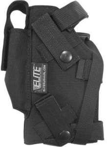 Elite Survival Systems Modular Holster, Left Hand, Black – Beretta 92/96 & Similar 7691-B-LH by Elite Survival Systems