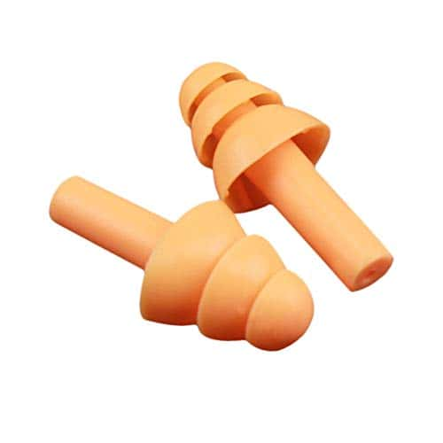 SaraHew74 Bouchons d'oreille en Silicone Souple Isolant phonique Protection auditive Bouchons d'oreilles Protection Contre Le Bruit Bouchons de Sommeil avec la boîte de Rangement