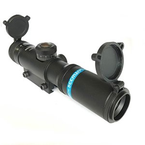 H World EU Tactical Airsoft 4×21 AO Rifle Optique Sniper Sight Scope avec capot arrière avant avec 11 milles queue d'aronde