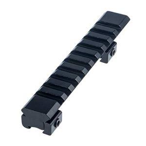 FOCUHUNTER Adaptateur de Base pour Montage de Rail 11mm to 20mm Weaver/Picatinny pour la Lunette de Visée Tactique en Aluminium de Lunette de Visée pour Airsoft