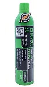Airsoft Green Gaz 2.0 et Patch par Nuprol First et Only Airsoft Gas, réduction pour Plusieurs achats.