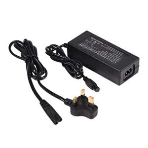 Bebliss 42V 2A Chargeur de Batterie au Lithium de Voiture à la dérive de Scooter électrique à Deux Roues, Prise US/UK/EU (en Option)