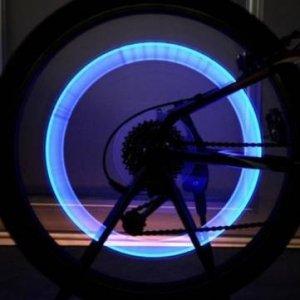 Bheema feux de roue lampe de vanne obus de valve la lumière de vélo accessoires vélo