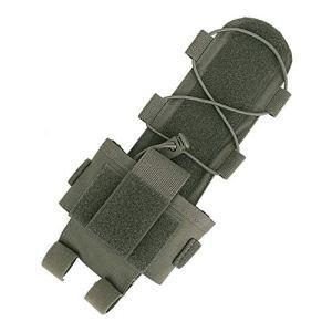 KRYDEX MK3 Étui de Batterie pour Casque Tactique avec Boucle Crochet, RG pour MK3.