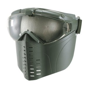 No2 professional goggles / full face Ranger Green (japan import)