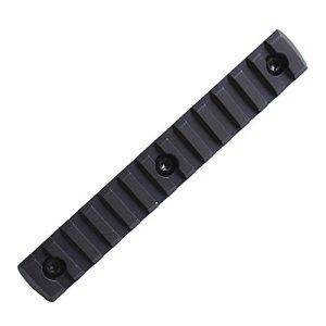 Noga Tactical M-Lok 13 Slot Picatinny/Weaver Rail Segment Adaptateur en Aluminium pour MLOK Handguard Forend Section 5.7 Pouces 145mm