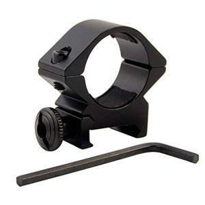 Oulensy Champ d'application Lampe de Poche Mont 25.4mm LowRifle Portée Bague de Montage 20 mm RIS Chasse Rail Tir au Fusil Laser Sight