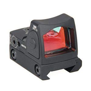 Tactical RMR Red Dot Sight 2 MOA Pistolet de visée réglable 20 mm