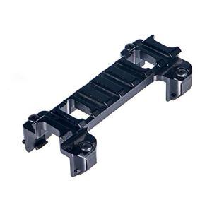 ToopMountRail pour Fusil Tactique Rail à Profil Bas en Aluminium de 20 mm Adaptateur de Base de Montage sur Rail Weaver/Picatinny pour MP5 G3