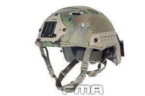 H Monde Shopping FMA Airsoft tactique réglable rapide casque de protection PJ NVG support de fixation pour tactique Airsoft Paintball Multicam