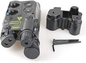 Tactique Airsoft AN / PEQ-16 Batterie Boîte Noir Mannequin AEG avec RIS Monture