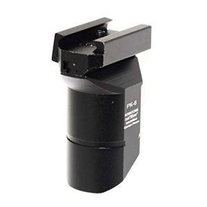 Airsoft Parts 5KU CNC Aluminum PK-6 Style Foregrip Poignée for AK-Series Black Noir