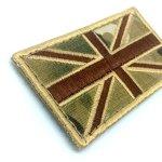 Union Jack Grande-Bretagne Multicam Drapeau brodé Airsoft Patch