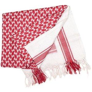 Valken Airsoft Shemagh Gotcha-Red/Blanc