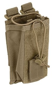 5.11 Tactical Bungee Radio Pouch One Size Sandstone