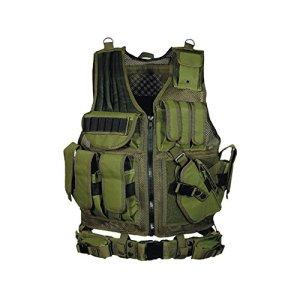 UTG 547 Gilet Tactique Style Agent de Police, Green
