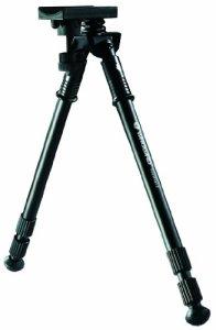 Vanguard Equalizer 2 Bipied de tir télescopique Noir 32,5 cm