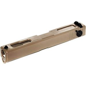 Airsoft CYMA Plastic Slide Glissière en Plastique pour CYMA CM030 G18C AEP Pistol Tan