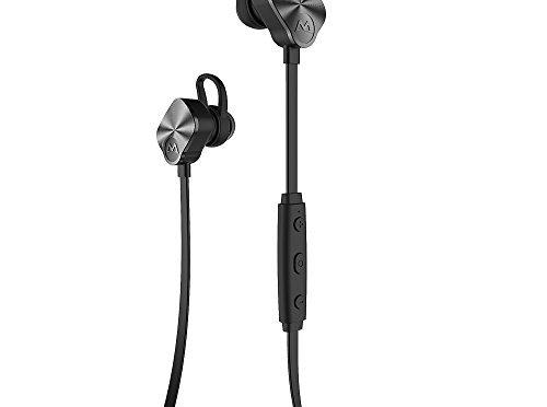 Mpow Bluetooth V4.1 Écouters Sport casque Intra-Auriculaires sans fil pour iPhone et Téléphone Intelligent Android – Noir