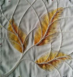 three leaves (571 x 600)