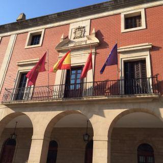 Fachada del Ayuntamiento de Lodosa - 1/6/2017
