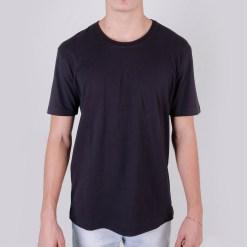 Camiseta Básica em Algodão Premium Cor Preta - Loja Nerd