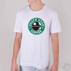 Camiseta DEATH STAR COFFEE - Loja Nerd