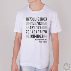 CamisetaIntelligence is The Ability to Adapt to Change - Stephen Hawking