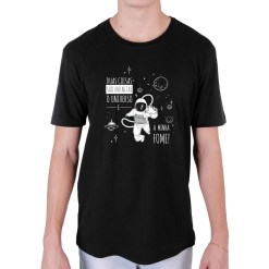 Camiseta Astronauta Fome Infinita - Loja Nerd