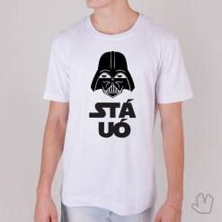 Camiseta Stá Uó Darth Vader - Loja Nerd