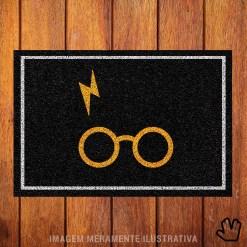Capacho Harry Potter Óculos