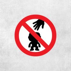 Placa Decorativa Não Toque nos Funkos - Loja Nerd