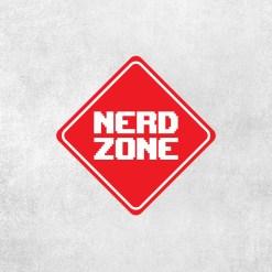 Placa Decorativa Nerd Zone - Loja Nerd